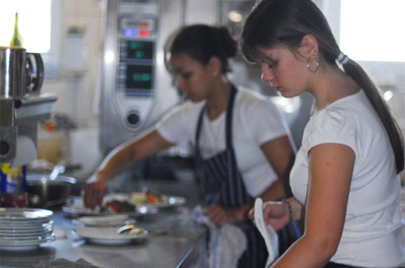 Küche // Restaurant / Gasthof zur Sonne in Wiechs